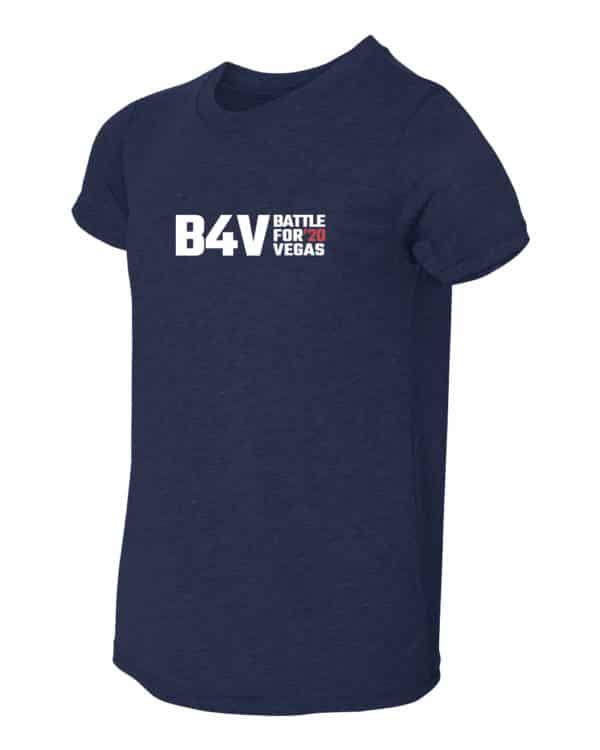 youth blue b4v shirt