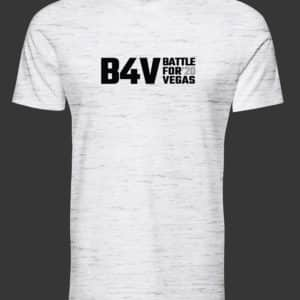 mens white and grey b4v shirt